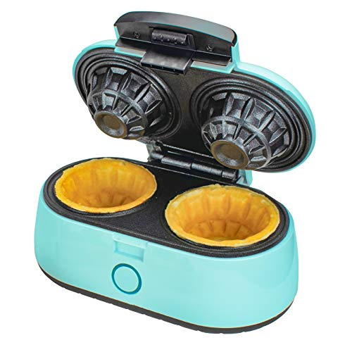 Brentwood Double Waffle Bowl Maker