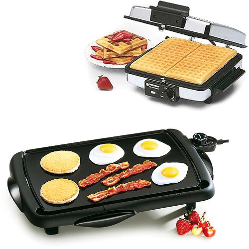 Black & Decker 3-in-1 Waffle Maker
