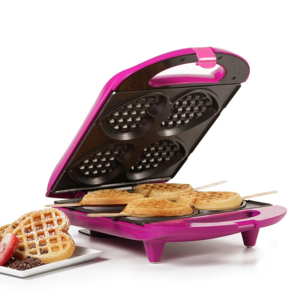 heart waffle majker