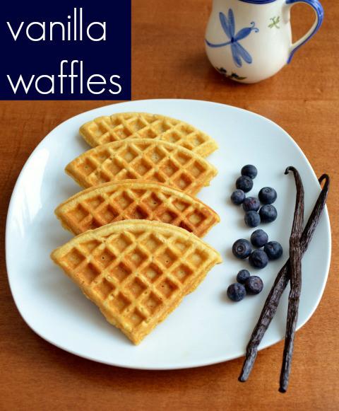 vanilla-waffle recipe
