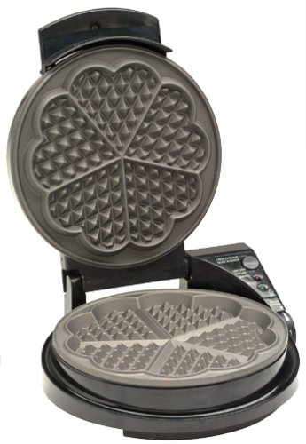 Chef's Choice heart shaped waffle maker