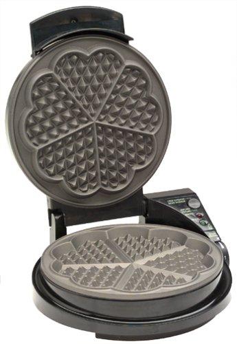 Chef's Choice heart shaped waffle maker