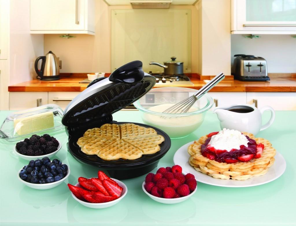 euro cusine heart shaped waffle maker