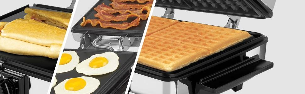 black-and-decker-compact-nonstick-3-in-1-indoor-grill-griddler-waffle-maker-with-chrome-housing-and-stay-cool-handles
