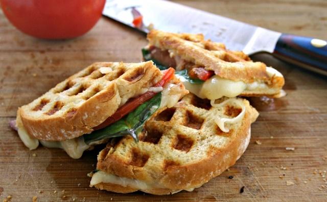 bruschetta-waffle-panini