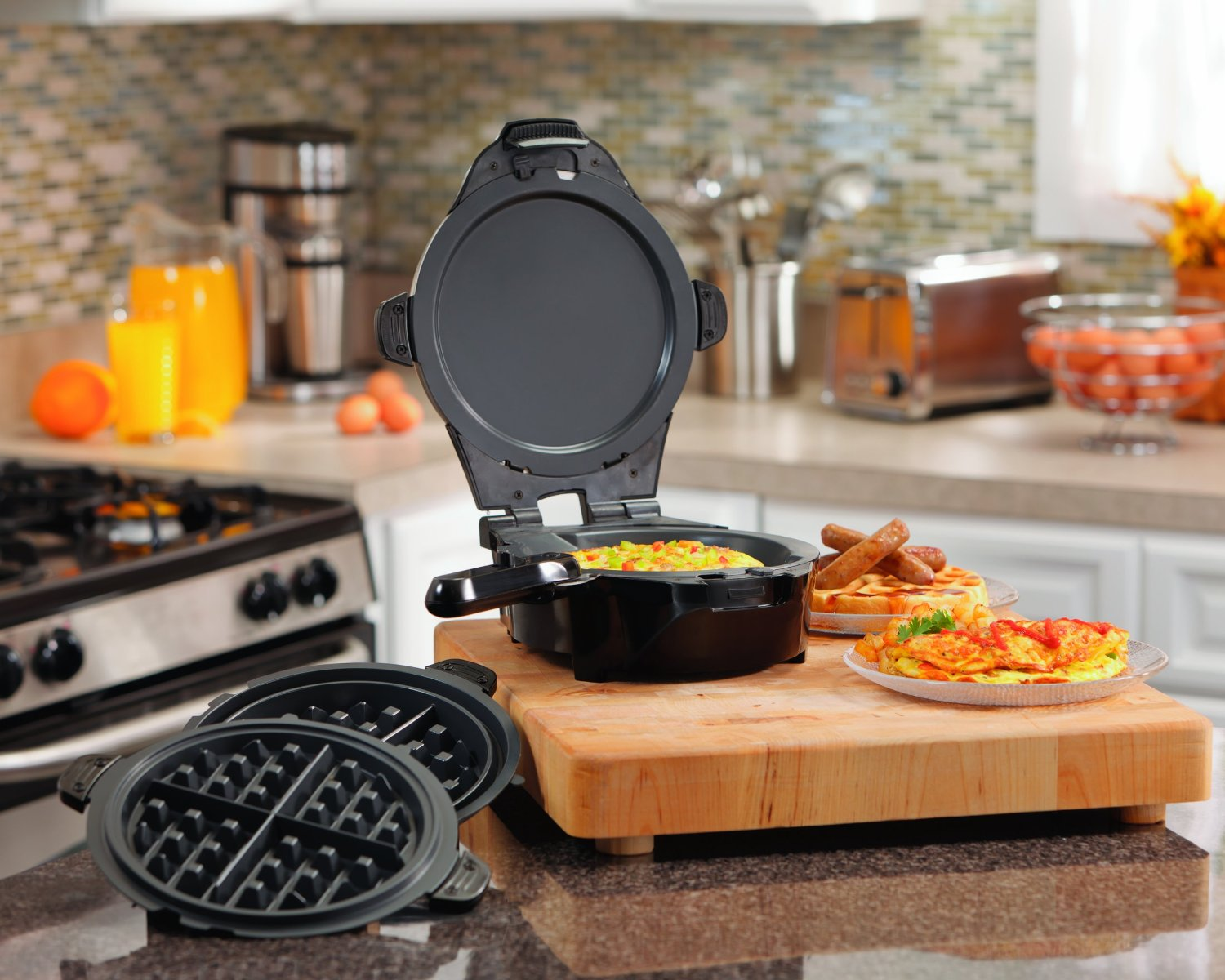 hamilton-beach-26046-the-breakfast-master-skillet-and-waffle-maker