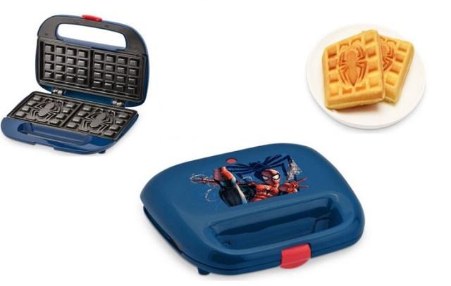 marvel-spiderman-2-slice-waffle-maker