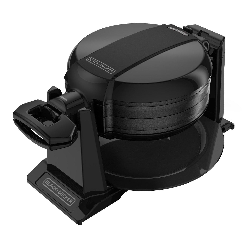 BLACK+DECKER Double Flip Waffle Maker,