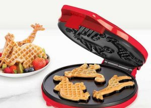 Zoo Animal Shaped Waffle Maker