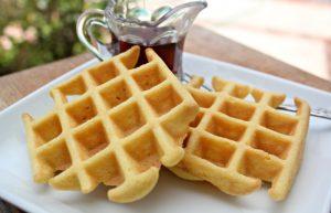 flourless gluten-free paleo waffles