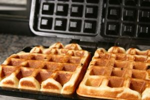 waffles from yeast