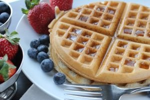 waffles without eggs recipe
