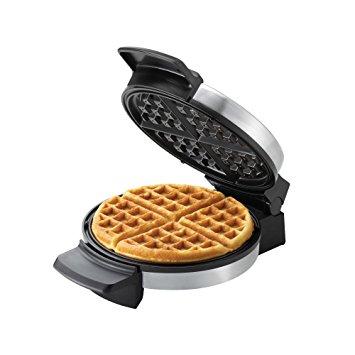 BLACK+DECKER WMB500 Belgian Round Waffle Maker