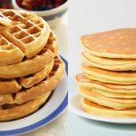 Waffles vs Pancakes for Breakfast